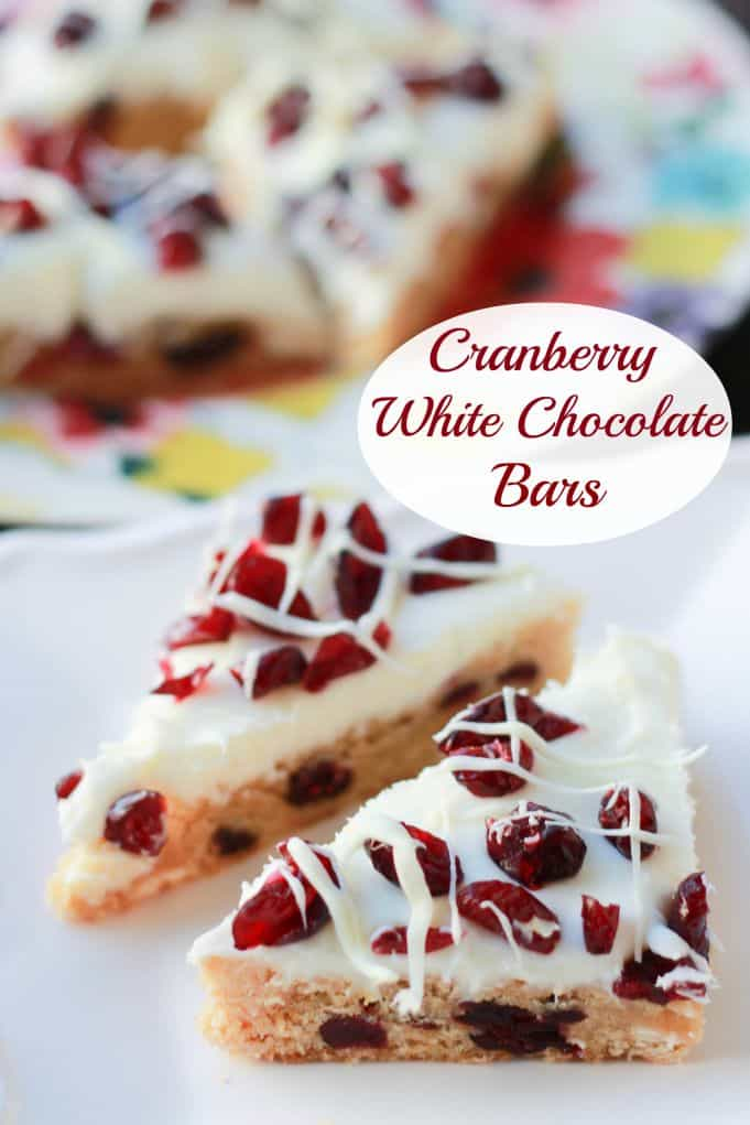 Cranberry Bliss Bars ( Starbucks copy cat recipe )