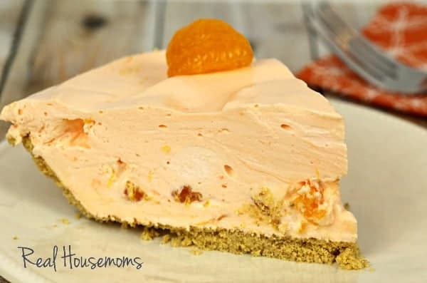 Creamsicle Chiffon Pie | Real Housemoms