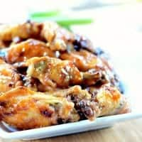 Grilled Honey Hot Wings | Real Housemoms