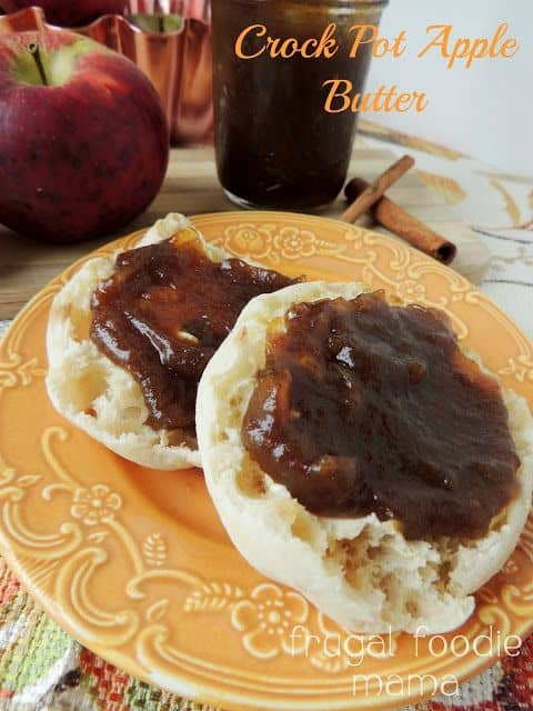 Homemade Crock Pot Apple Butter