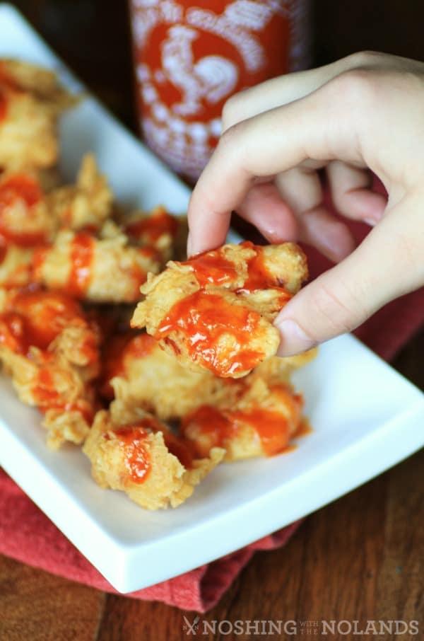 Honey Sriracha Chicken Nuggets | Real Housemoms