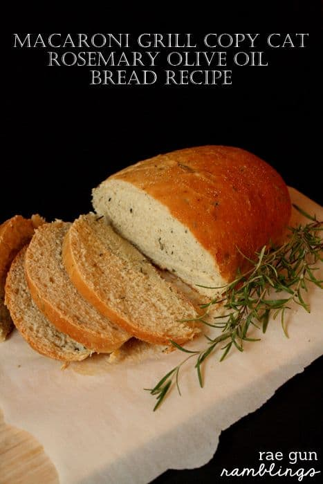 Macaroni Grill Copy Cat Bread Recipe