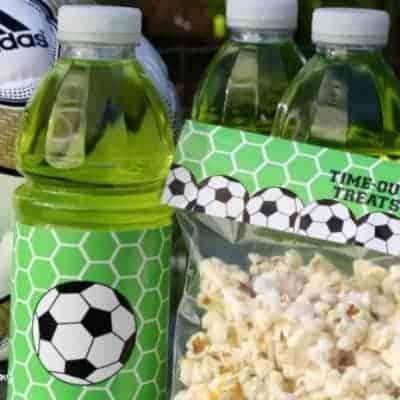 Soccer Snack Printables