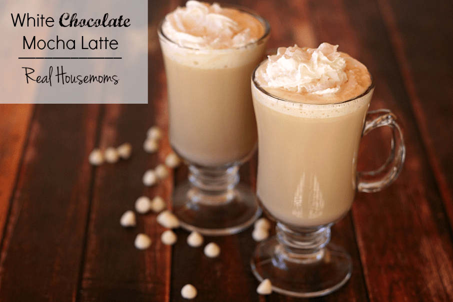 White Chocolate Mocha Latte ⋆ Real
