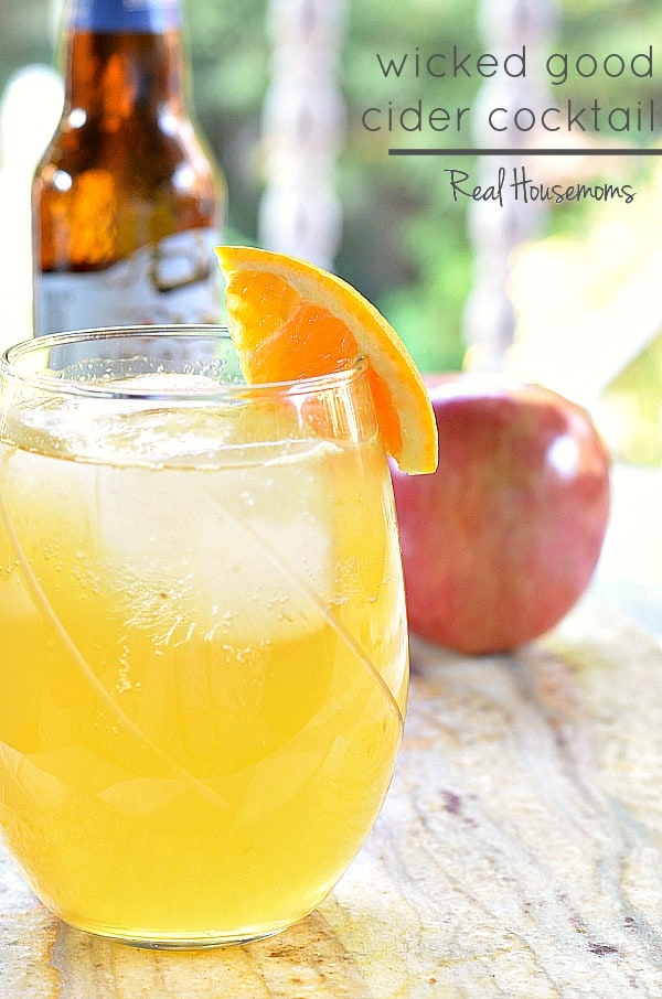 Wicked Good Cider Cocktail | Real Housemoms