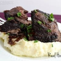 Braised Short Ribs |Real Housemoms