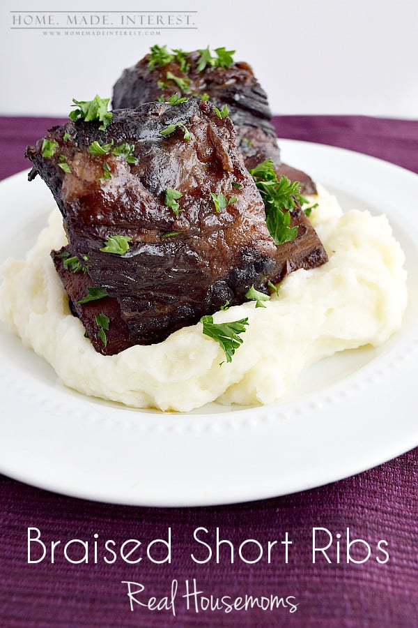 Braised short ribs are one of my go-to recipes for dinner parties and ...