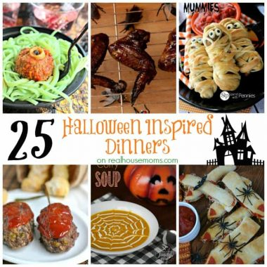 25 Halloween Dinner Ideas