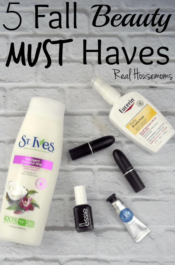 5 Fall Beauty Must Haves | Real Housemoms
