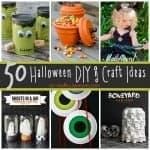 50 Halloween DIY & Craft Ideas