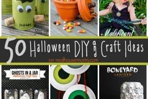 50 Halloween DIY & Craft Ideas SQUARE