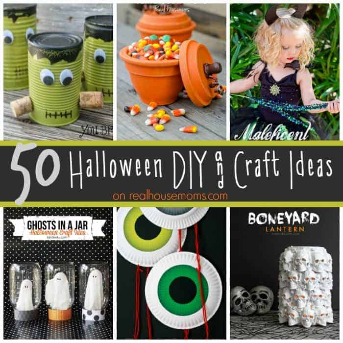 50 Halloween DIY & Craft Ideas SQUARE