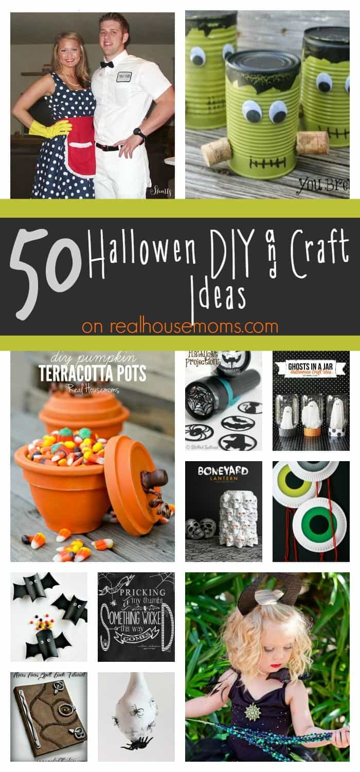 50 Halloween DIY & Craft Ideas on Real Housemoms