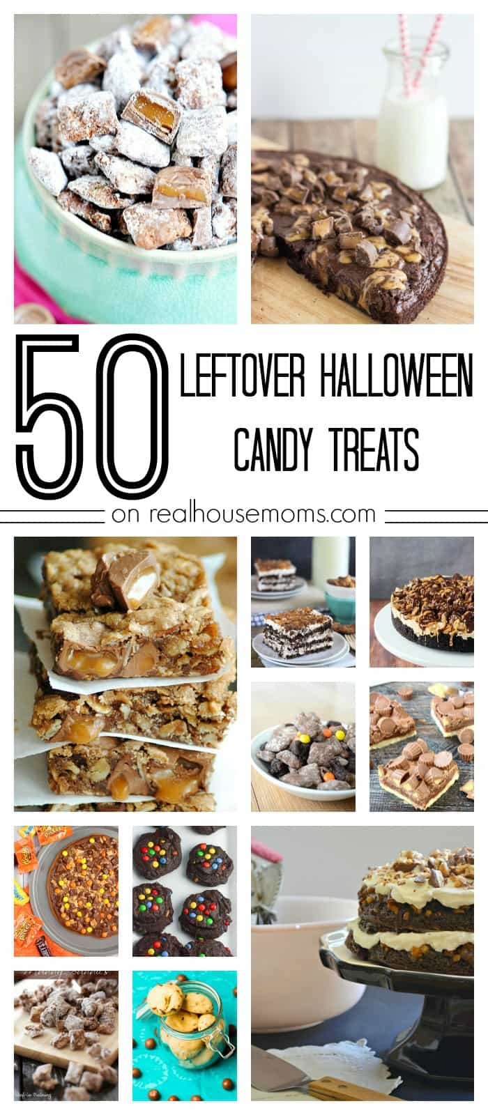 50 leftover halloween candy treats on real housemoms