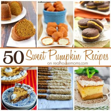 50 Sweet Pumpkin Recipes