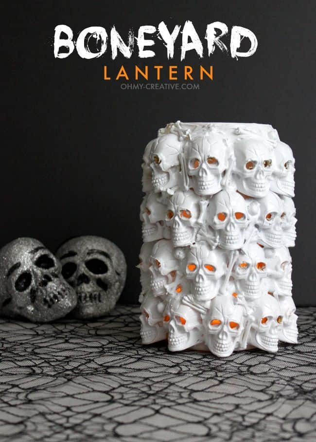 boneyard lantern - Halloween Diy Crafts