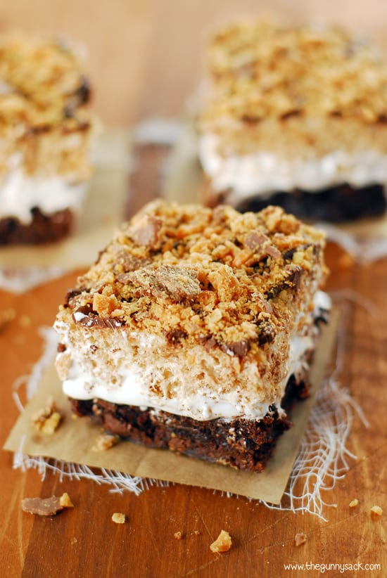 Butterfinger Ooey Gooey Bars