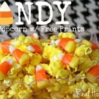 Candy Corn Popcorn Feature Image