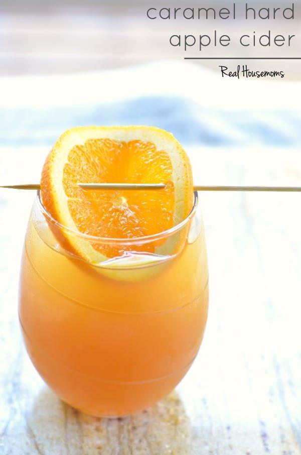 Caramel Hard Apple Cider | Real Housemoms