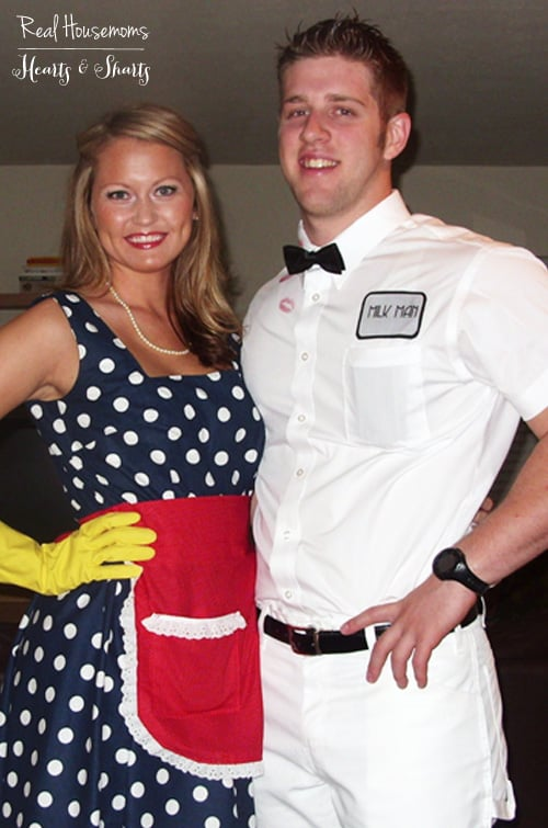 Handmade Halloween: Housewife & the Milk Man | Real Housemoms