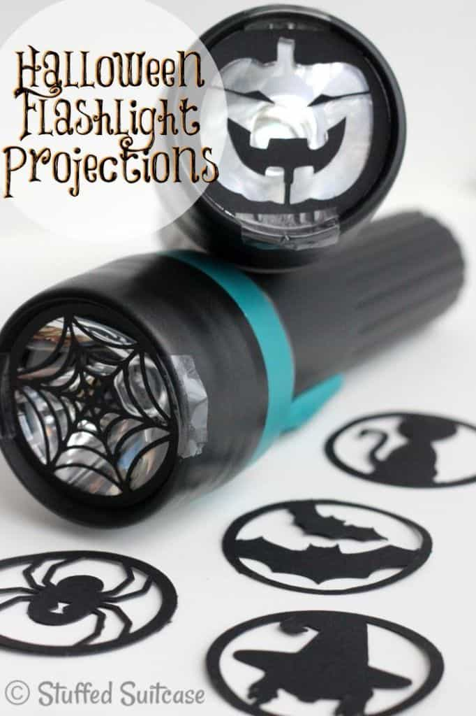 DIY Halloween Flashlight Projections Craft