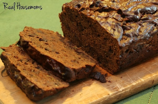 Double Chocolate Zucchini Bread | Real Housemoms