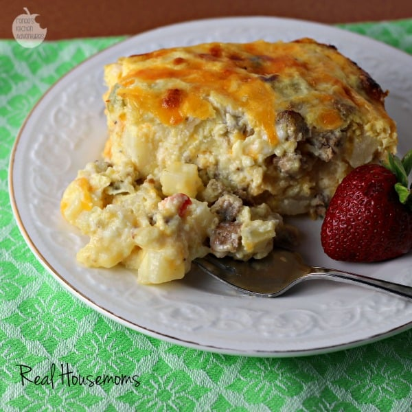 Easy Cheesy Southwest Breakfast Casserole | Real Housemoms