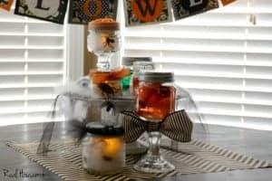 Halloween Specimen Jar Centerpiece | Real Housemoms