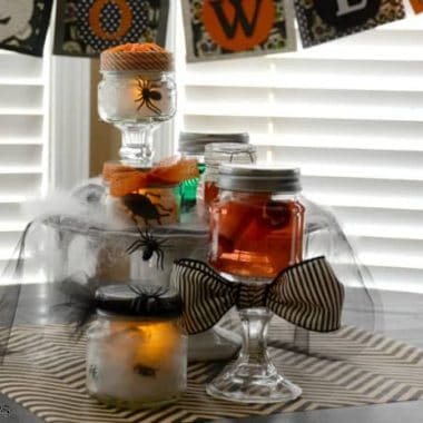 Halloween Specimen Jar Centerpiece