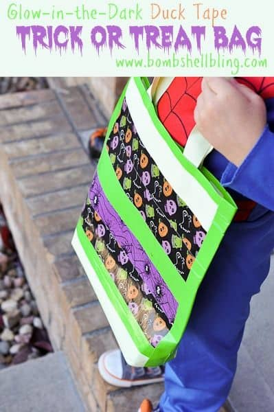Glow-in-the-Dark Trick or Treat Bag