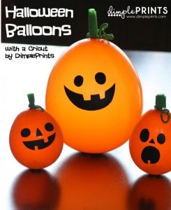 Halloween Balloons | Dimple Prints