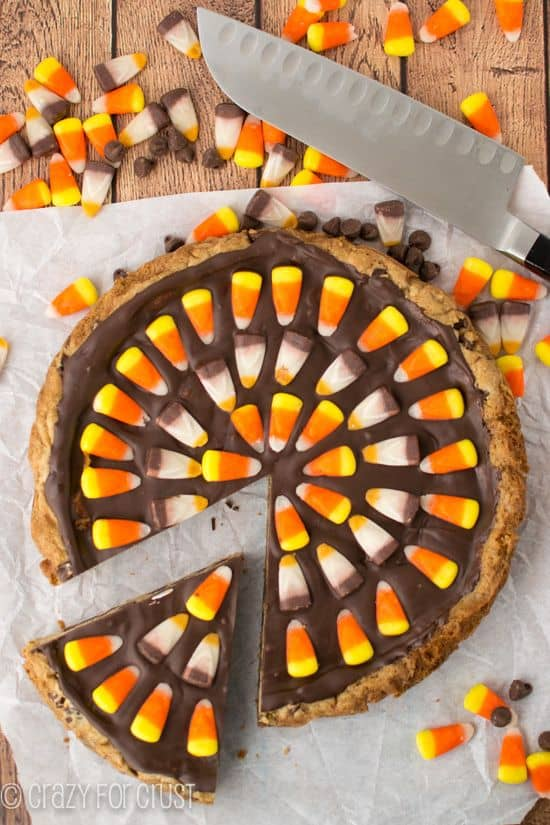 Harvest Chocolate Chip Cookie Cake
