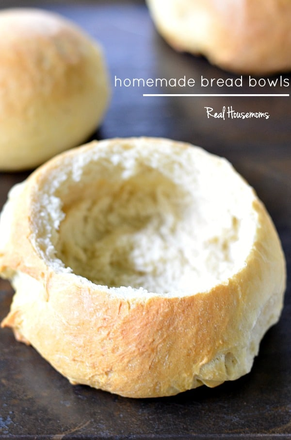 Homemade Bread Bowls | Real Housemoms