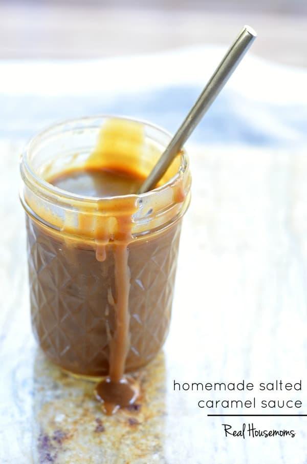 Homemade Salted Caramel Sauce | Real Housemoms