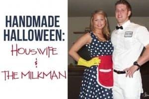 Housewife & Milkman Costume FEAT