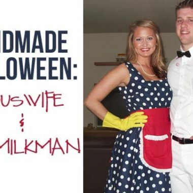 Housewife & the Milk Man Costume