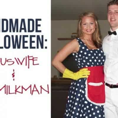 DIY Housewife & the Milk Man Costume