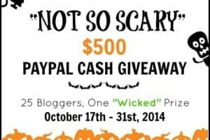 Not So Scary Halloween Giveaway FEAT