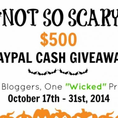 """""""Not So Scary"""" Halloween Giveaway"""