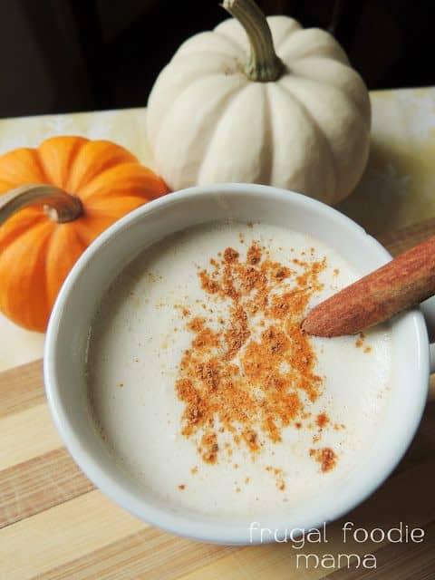 Pumpkin Chai Hot Buttered Rum