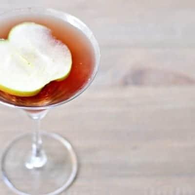 Spiced Apple Pomtini
