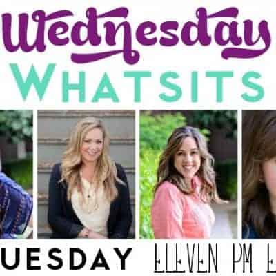 Wednesday Whatsits {142}