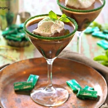 Andes Mint Martini | Real Housemoms