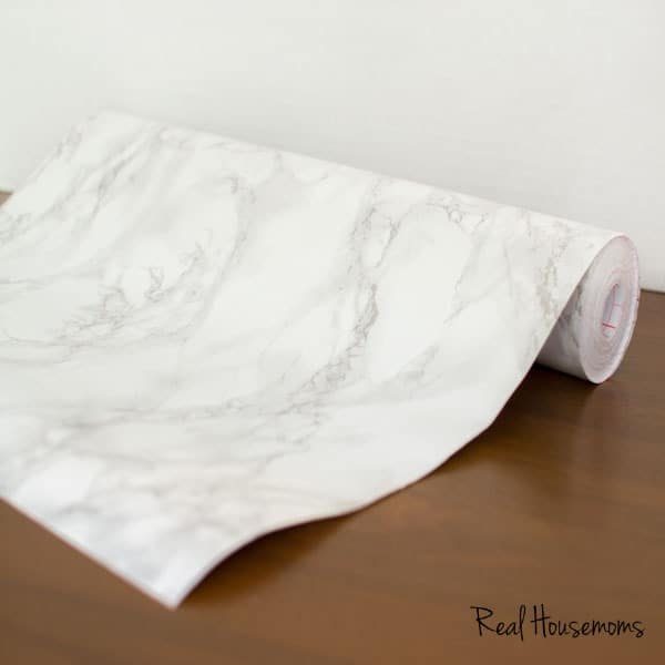 Superior DIY Faux Marble Top Table | Real Housemoms