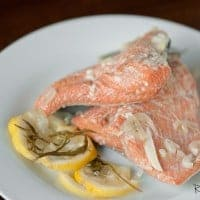 Slow Cooker Poached Salmon   Real Housemoms
