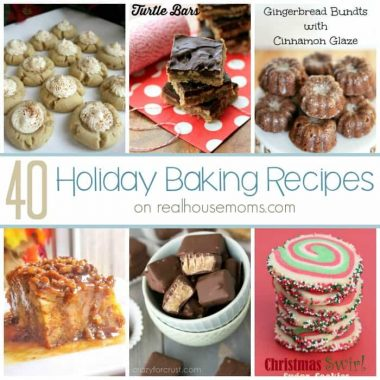40+ Holiday Baking Recipes