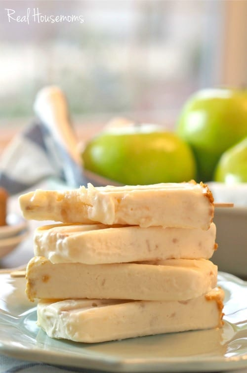 Apple Pie Popsicles | Real Housemoms