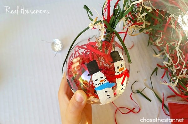 DIY Kid's Handprint Ornament | Real Housemoms