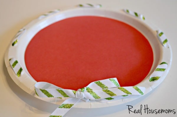 DIY Paper Cookie Platter Christmas Gift | Real Housemoms