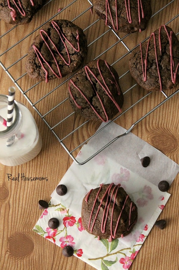 Double Chocolate Covered Cherry Cookies | Real Housemoms